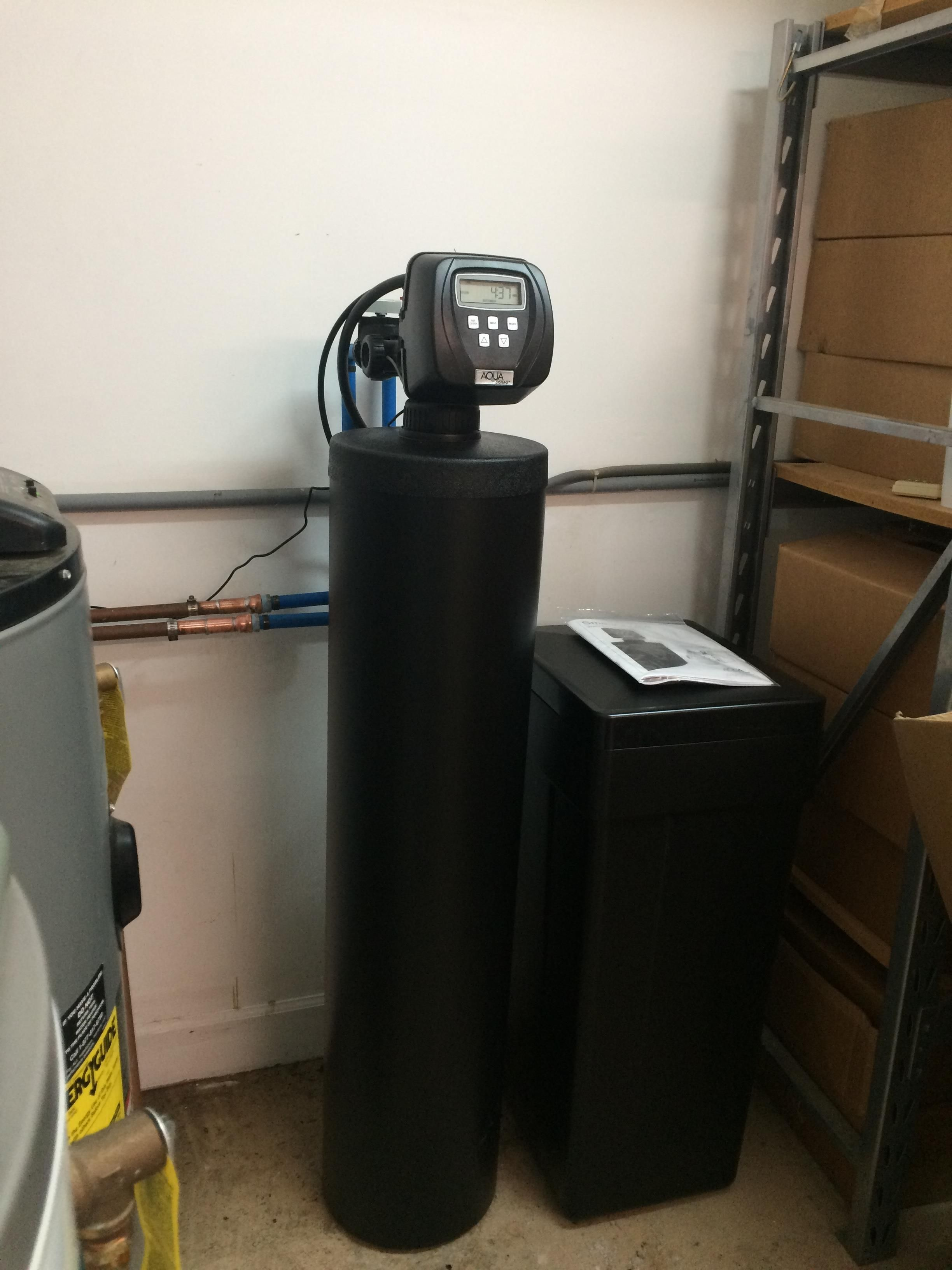 hoover water softener culligan