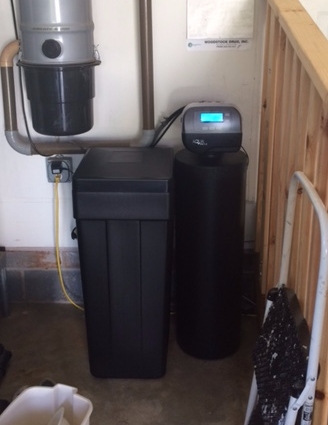 New Aqua Systems High Efficiency Water Softener