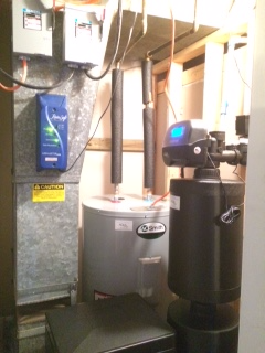 Water Softener, Water Heater & Water Conditioner