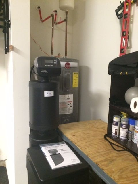 water softener, hoover, drinking water, reverse osmosis