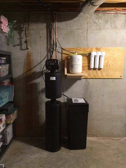 water softener reverse osmosis water filtration