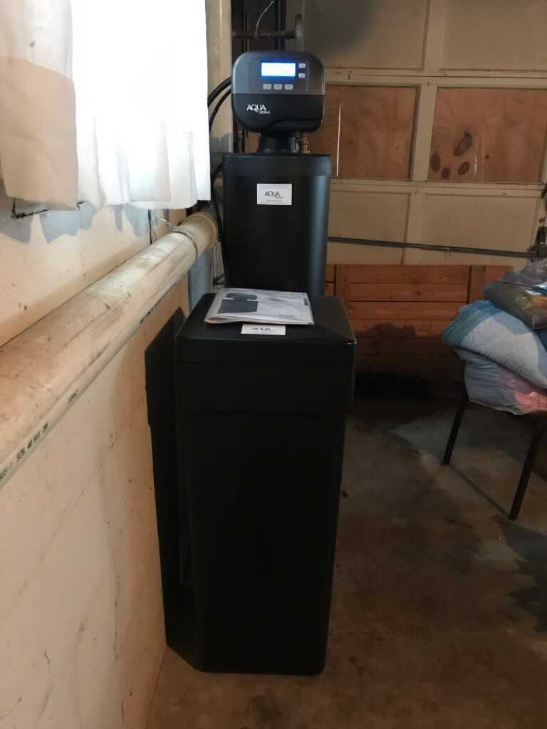 Water Softener Upgrade in Centerpoint