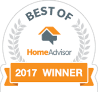 Best Of - HomeAdvisor 2017 Winner