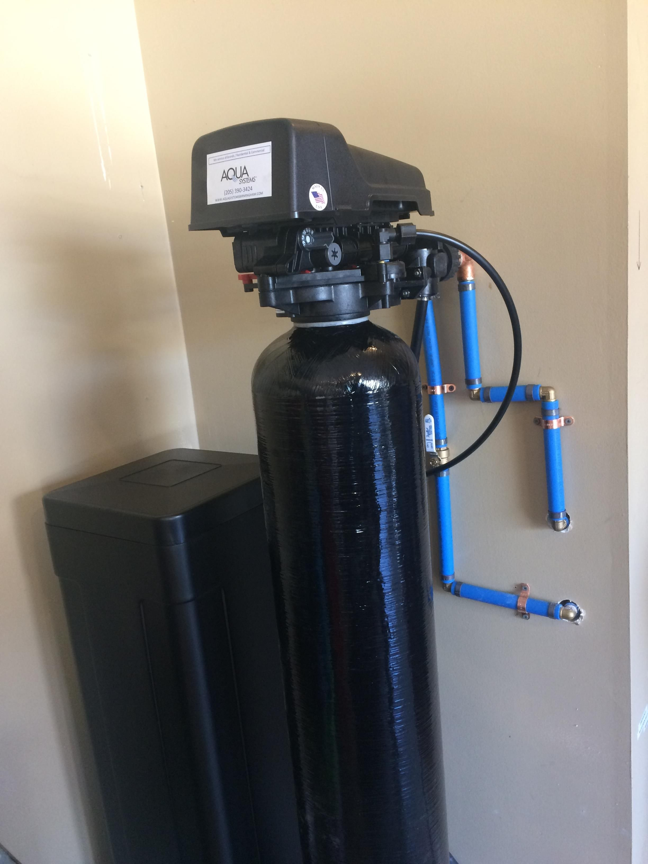 black water softener