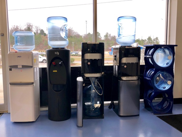 Bottled water systems